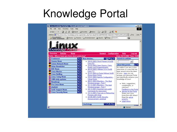 Knowledge Portal