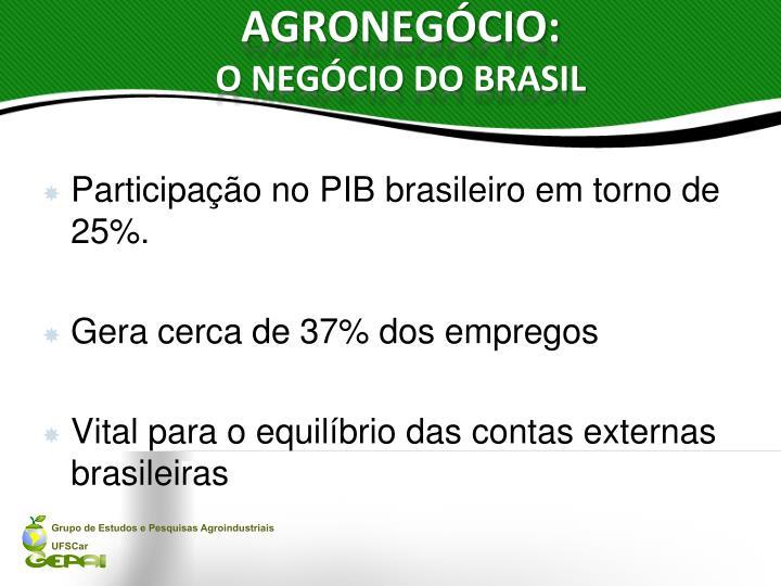 Agroneg cio o neg cio do brasil