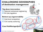 challenging geographies of destination management2