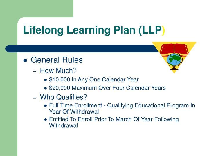 Lifelong Learning Plan (LLP