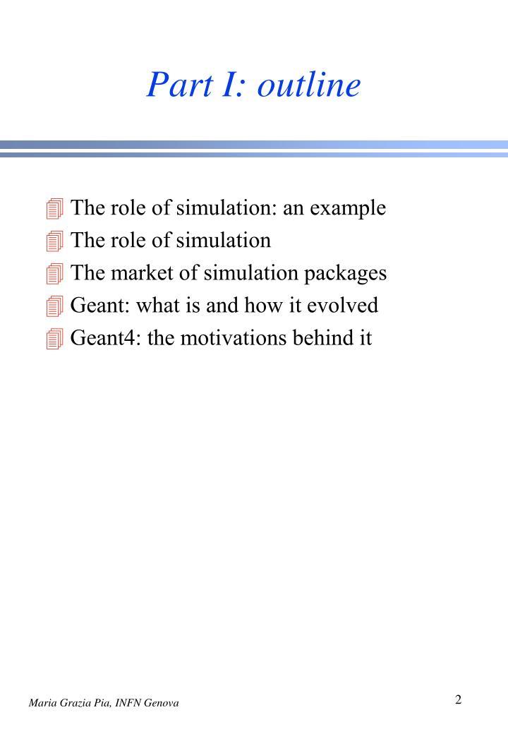 Part i outline