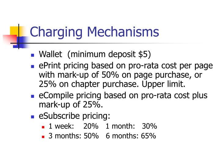 Charging Mechanisms
