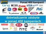 ponad 400 kampanii
