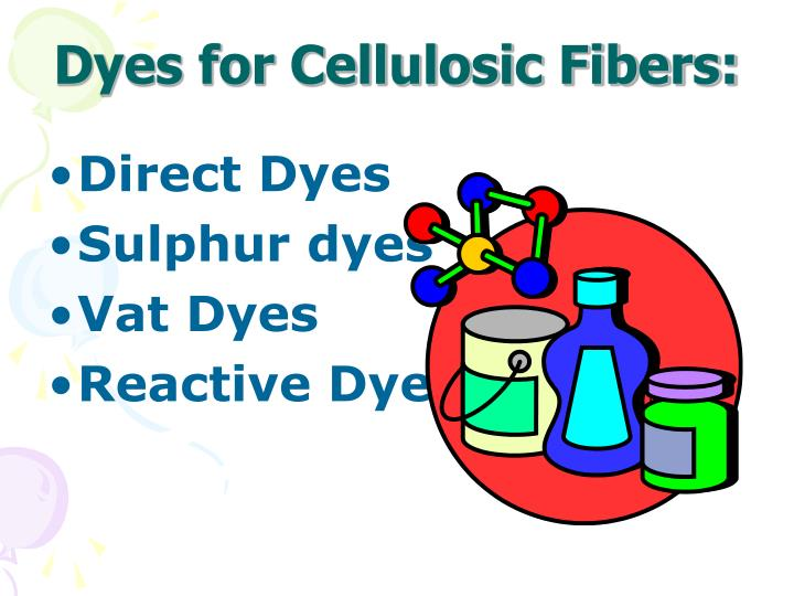 Dyes for Cellulosic Fibers: