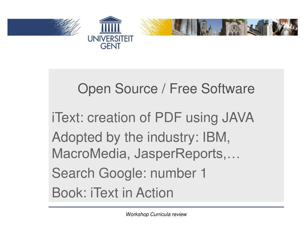 PPT - Ghent University PowerPoint Presentation - ID:4316213