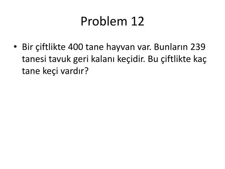 Problem 12