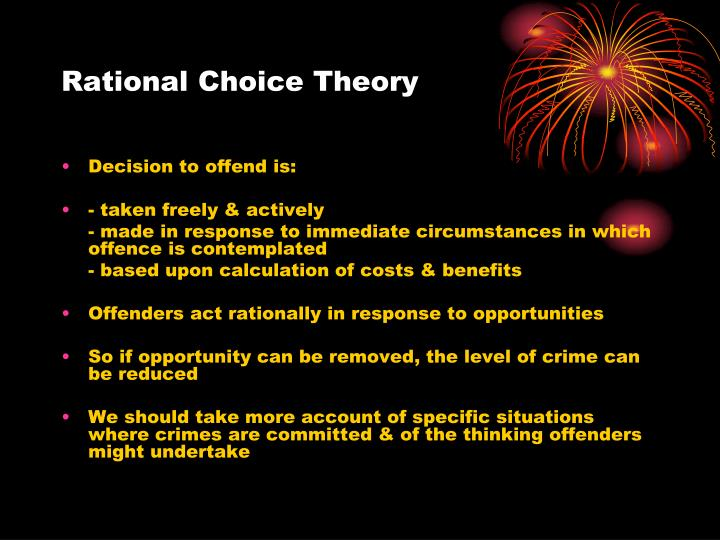 rational choice vs labeling theory