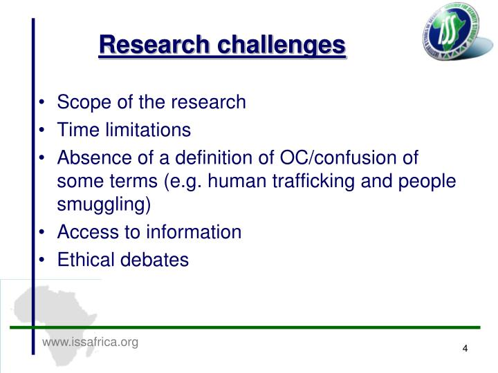Research challenges