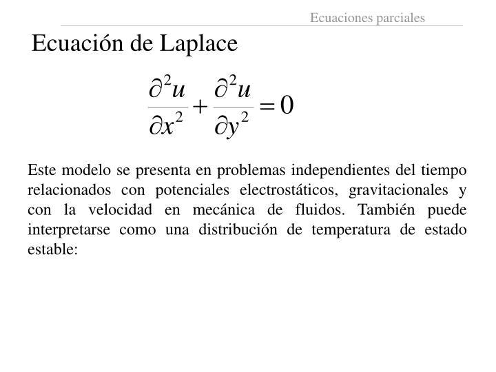 Ecuación de Laplace