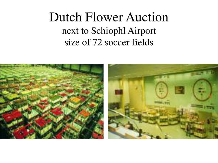 Dutch Flower Auction