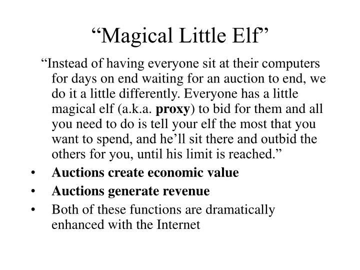 """""""Magical Little Elf"""""""