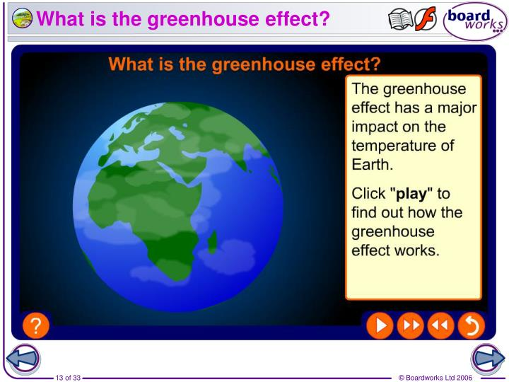 the four steps in the greenhouse effect The greenhouse effect is the trapping or absorbing of heat energy in the atmosphere by the greenhouse gases and bouncing it back to earth this level of greenhouse gases has increased in the last few years and the average temperature on earth has risen.