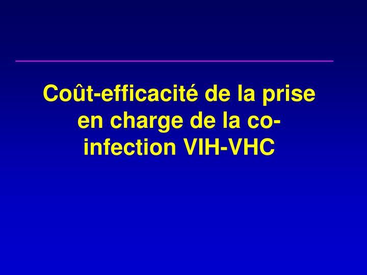 Coût-efficacité de la prise en charge de la co-infection VIH-VHC