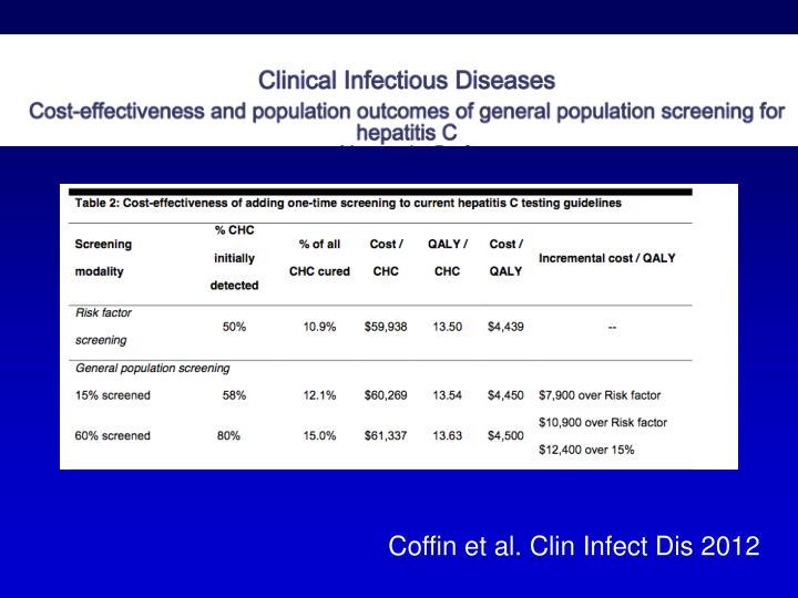 Coffin et al. Clin Infect Dis 2012