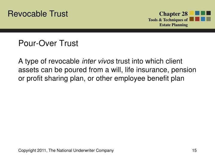 Pour-Over Trust