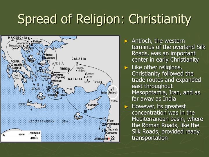 Spread of Religion: Christianity