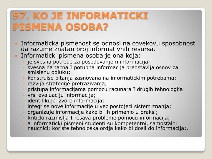 Informaticka
