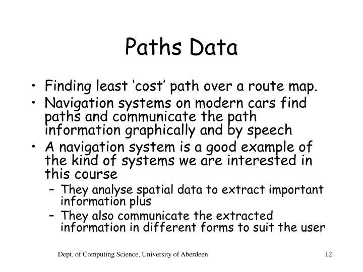 Paths Data