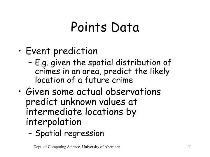 Points Data