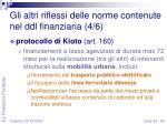 gli altri riflessi delle norme contenute nel ddl finanziaria 4 6