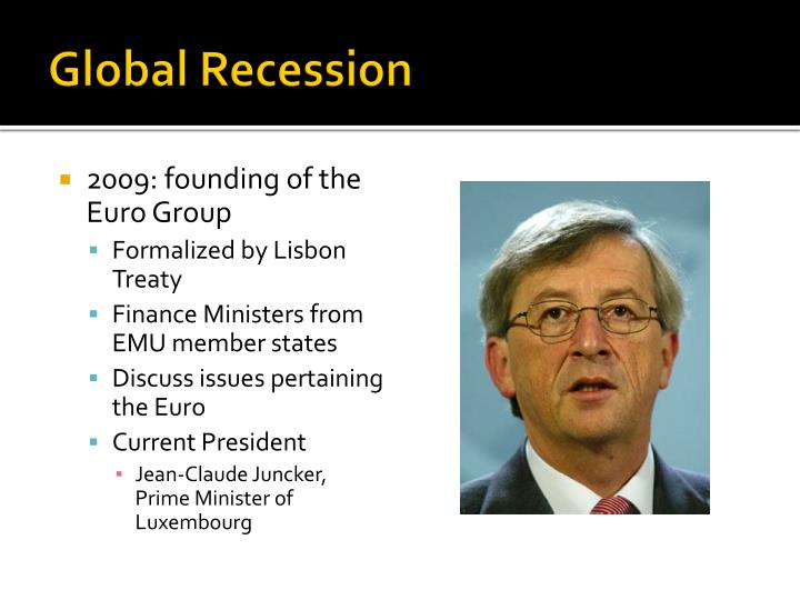 global recession 2009 essay Free essay: topic a) analyse the effects of the global recession on morocco's economy b) discuss what action morocco has taken to reduce the adverse effects.