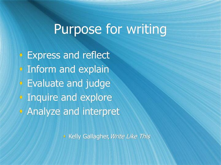 kelly gallagher write like this From kelly gallagher's write like this in the beginning of gallagher's section on the sentence of the week, he references research done by judith langer on effective instructional practices, especially effective skills instruction.