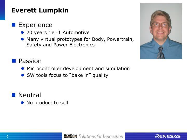 Everett lumpkin