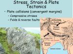 stress strain plate tectonics