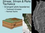 stress strain plate tectonics1