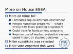 more on house esea