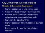 city comprehensive plan policies2