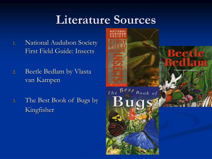 Literature Sources