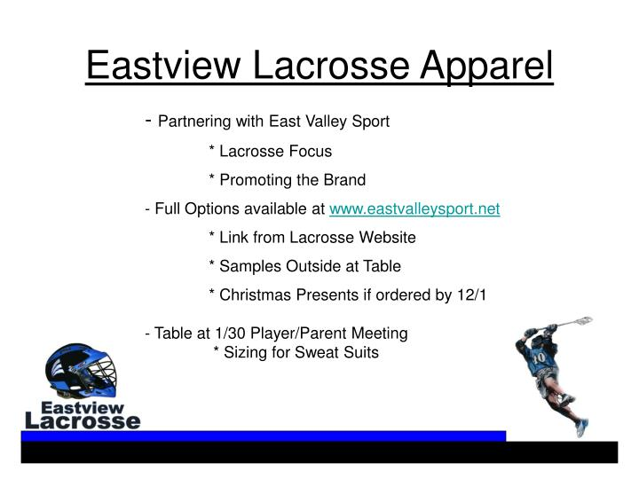 Partnering with East Valley Sport