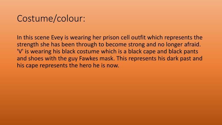 Costume/colour: