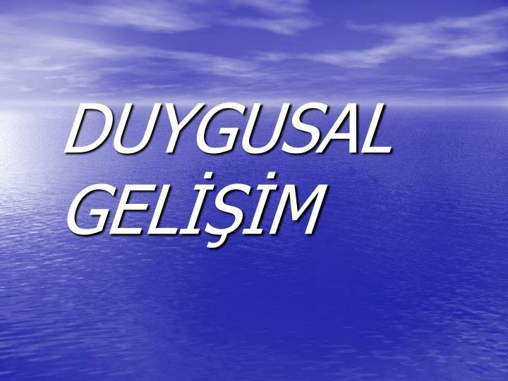 DUYGUSAL