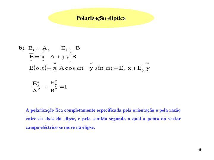 Polarização elíptica
