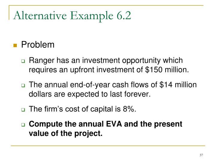 Alternative Example 6.2