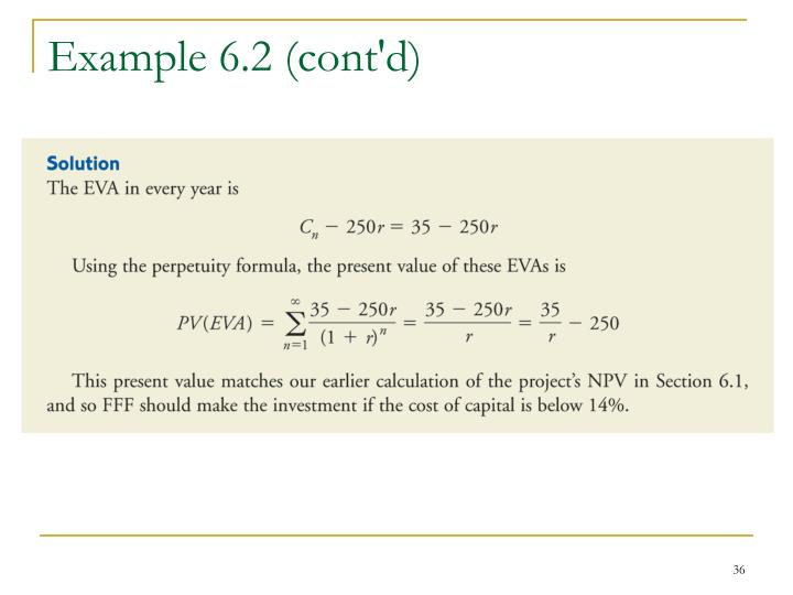 Example 6.2 (cont'd)
