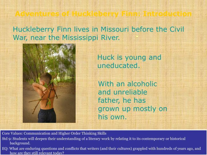 Adventures of Huckleberry Finn: Introduction