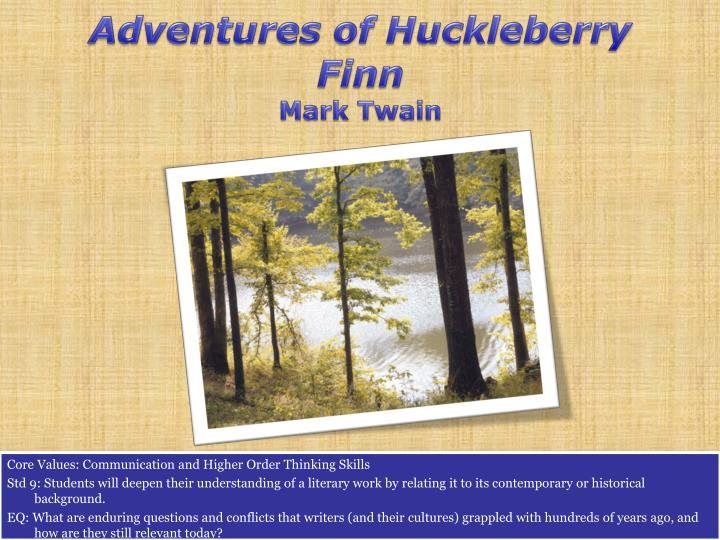 Adventures of huckleberry finn mark twain1