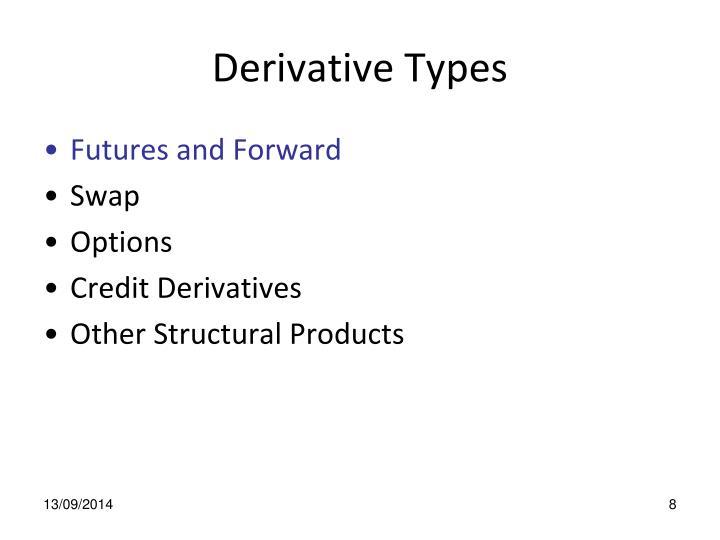 Derivative Types