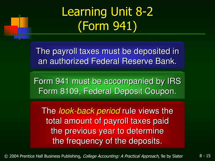 Ppt The Employers Tax Responsibilities Powerpoint Presentation