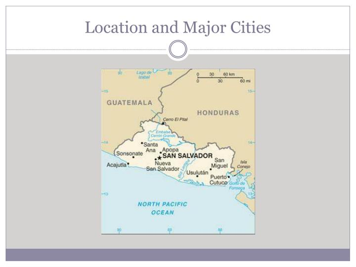 Location and major cities