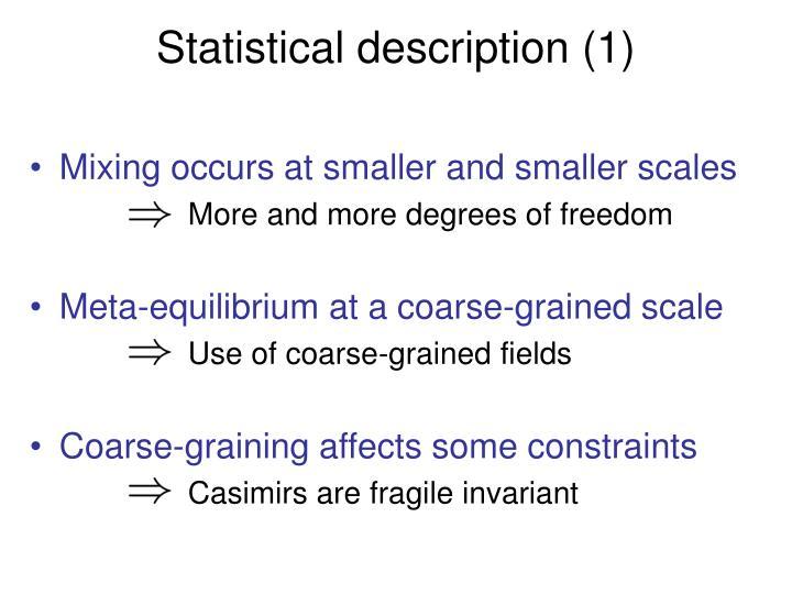 Statistical