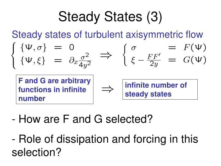 F and G are arbitrary