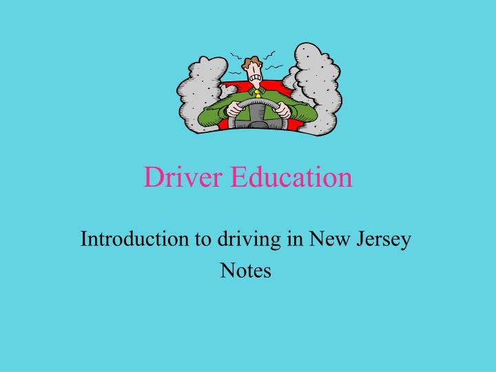 prolonging the driving age in the state of new jersey Important facts from the new jersey driver manual: chapter a motorist who operates a motor vehicle in the state of nj must while driving a special learner or.