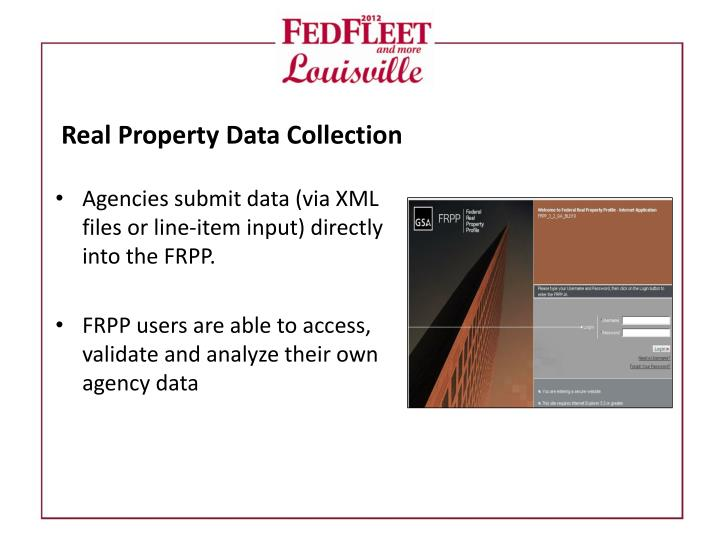 Real Property Data Collection