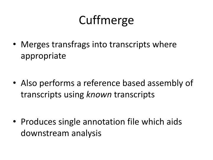 Cuffmerge