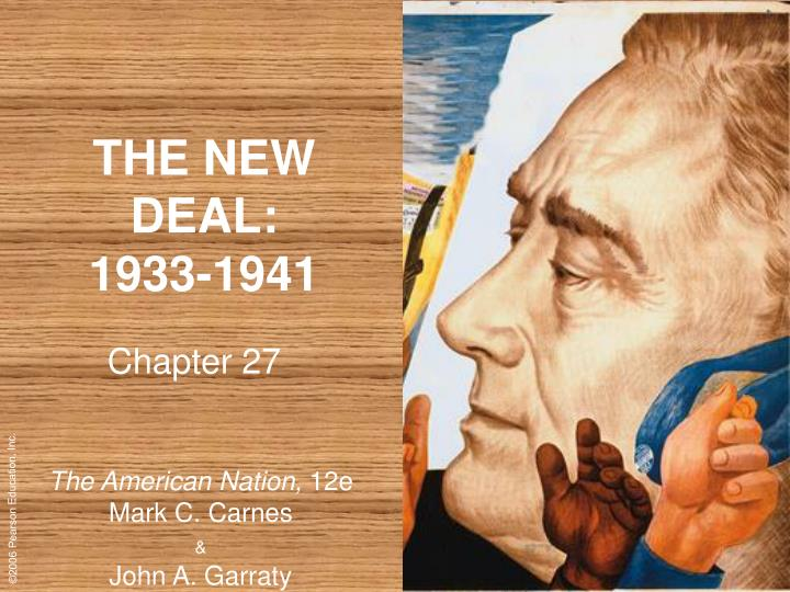 the changes ushered by the new deal in america New content is added regularly to the website, including online exhibitions, videos, lesson plans, and issues of the online journal history now, which features essays by leading scholars on major topics in american history.