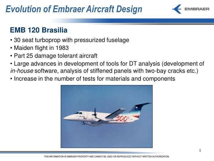 Ppt Evolution Of Embraer Aircraft Design Powerpoint Presentation Free Download Id 4321132